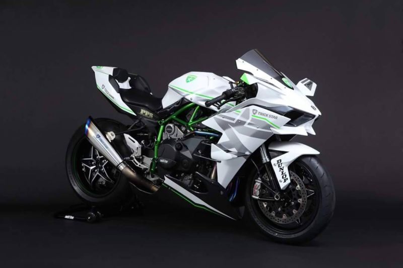 Kawasaki Ninja H2r Pakai Baju Baru Okezone Otomotif