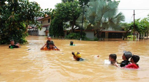 Aceh Selatan Dilanda Banjir, Ratusan Rumah Terendam