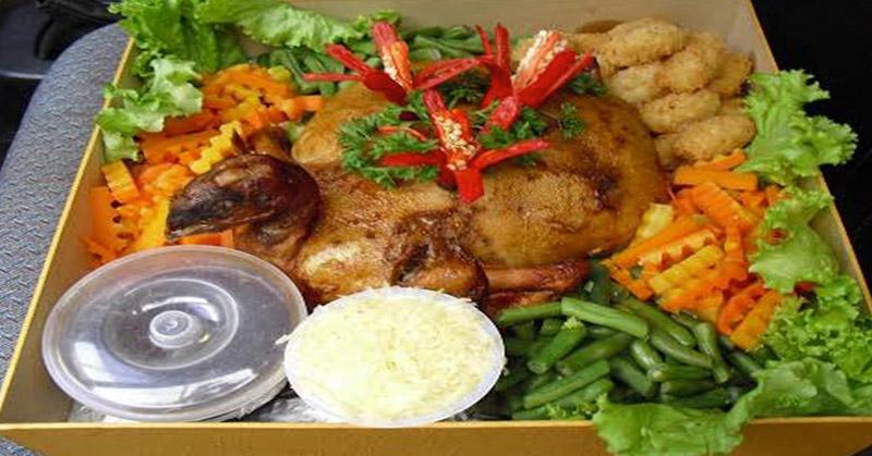 Natal Ayam Kodok Pengganti Kalkun Panggang Okezone Lifestyle