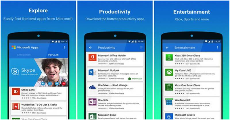 Mudahkan Pengguna Android, Microsoft Luncurkan Aplikasi Khusus