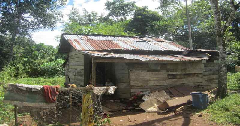 ilustrasi kondisi tempat tinggal orang miskin di Indonesia (foto: Okezone)