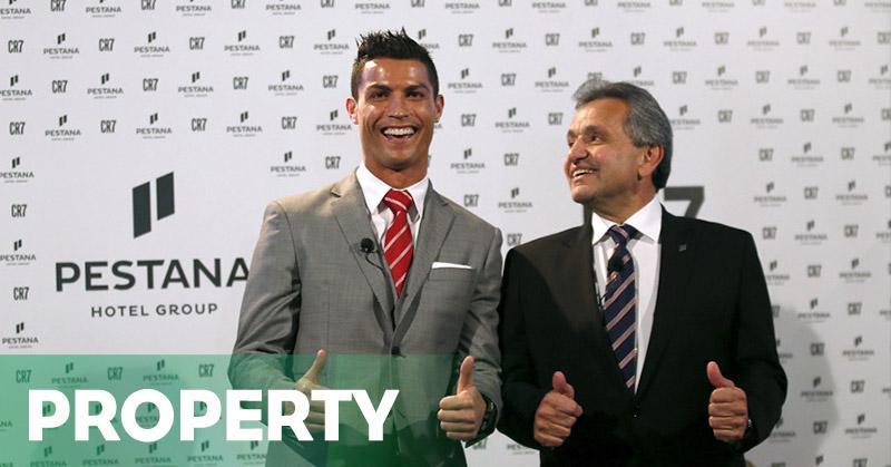 Cristiano Ronaldo Menutup Bisnisnya di Spanyol