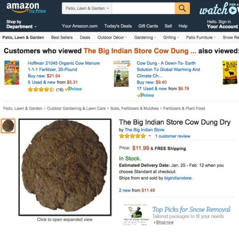 [TAI DEWA] Kue Kotoran Sapi Dijual Online, Laku di India
