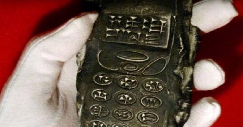 Ditemukan Ponsel Berusia 800 Tahun Milik Alien