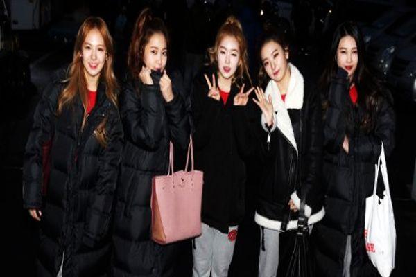 EXID vs Red Velvet di Final Panahan ISAC 2016 : Okezone