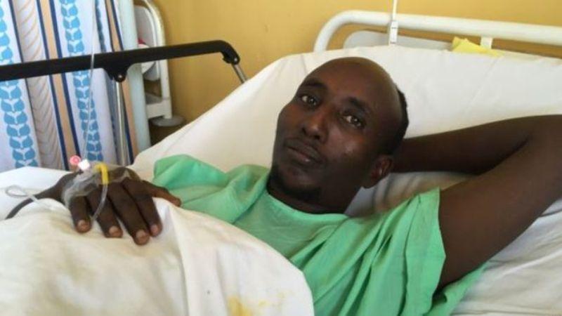 Salah Farah, pria Muslim Kenya yang pasang badan lindungi umat Kristen. (Foto: BBC)