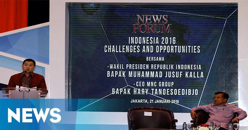 Hary Tanoe: Media Faktor Penting Pembangunan