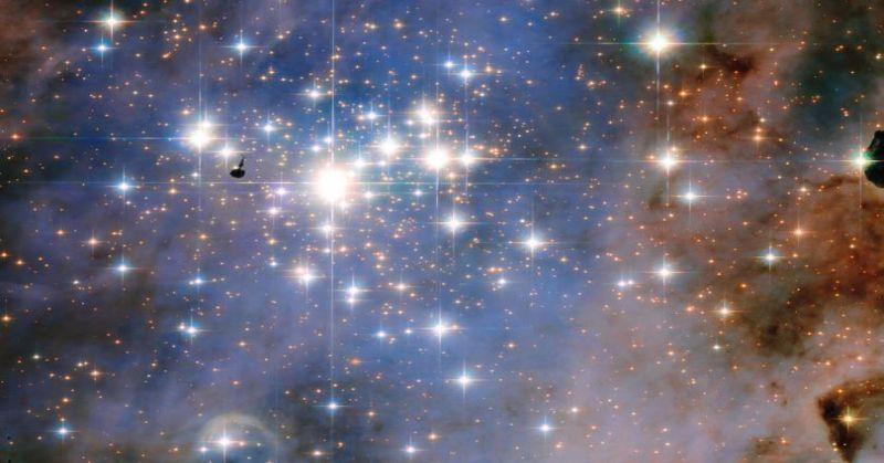 Indah, Hubble Tangkap Bintang seperti Berlian : Okezone techno