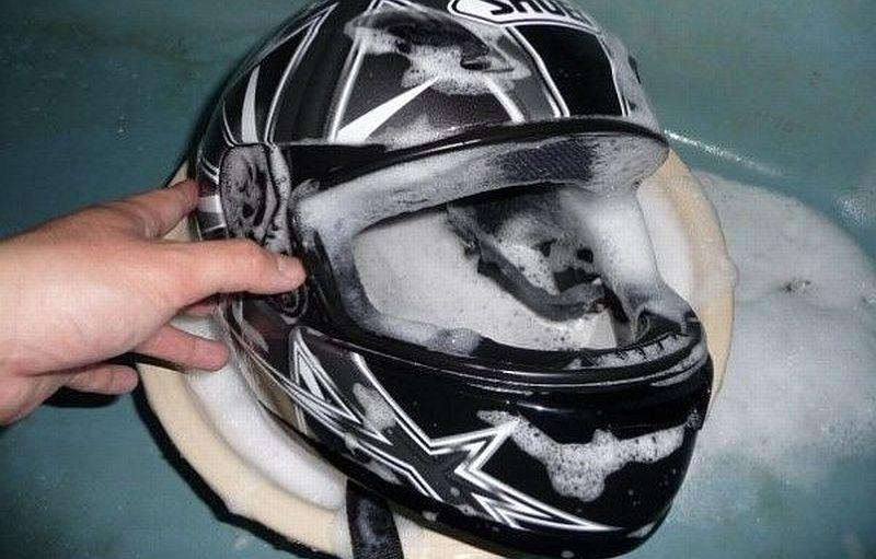 Cara Mencuci Helm Yang Benar Okezone Otomotif