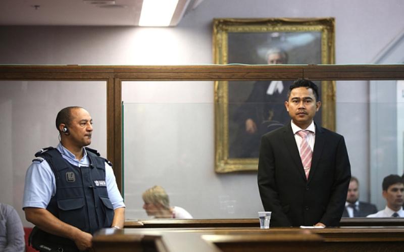 Mohammed Rizalman bin Ismail saat menghadiri persidangan (Foto: Getty Images)