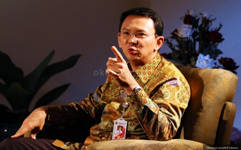 Gubernur DKI Jakarta Basuki Tjahaja Purnama alias Ahok (Okezone)