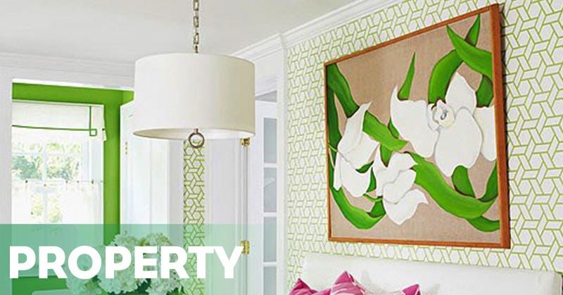 Wallpaper Dinding Desain Sendiri  ide seru mendekorasi dinding di rumah okezone economy