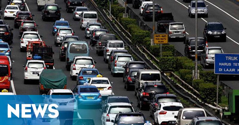 Lalin Bandung Padat, 200 Polantas Diterjunkan