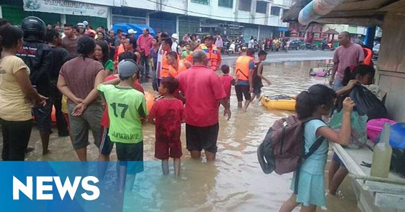 Makam Pahlawan hingga Masjid Terendam Banjir Bandang