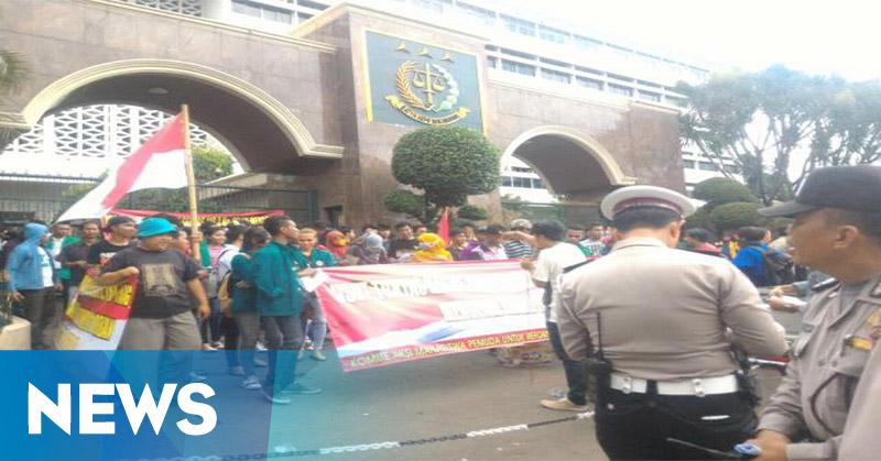 Kasus Sentul City Mengendap, Mahasiswa Geruduk Kejagung