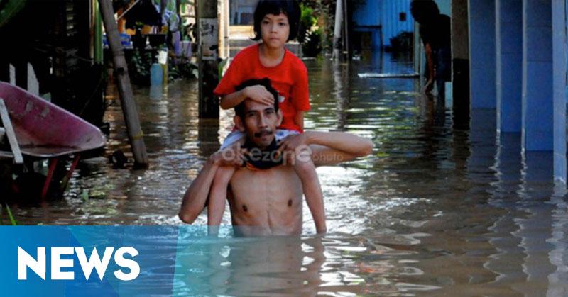 Banjir Bandang Terjang Seluruh Kecamatan di Bangka Tengah