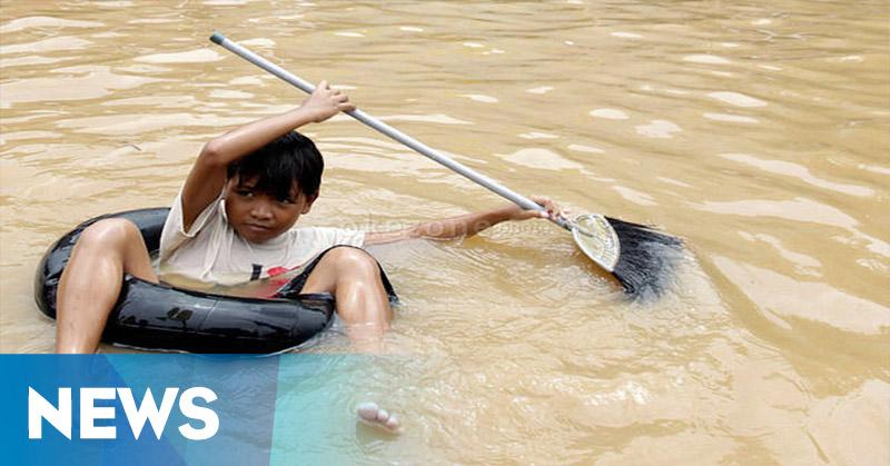 Banjir 1 Meter Rendam Kepulauan Mentawai