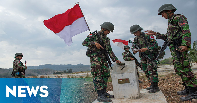 Patok-Patok Perbatasan Indonesia-Malaysia Hilang
