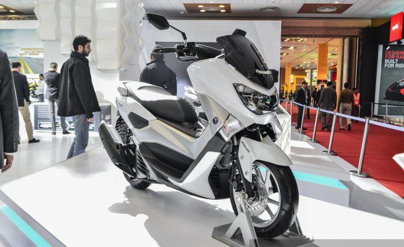 Yamaha NMAX (Indianautosblog)
