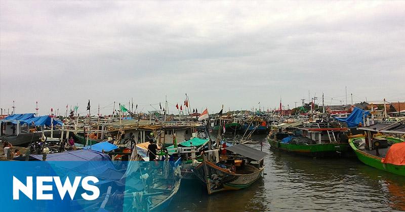 Gelombang Tinggi, Nelayan di Indramayu Enggan Melaut