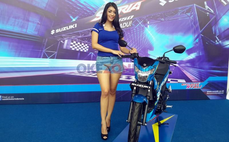 Pengujian secara internal Suzuki menunjukan kalau all new Satria F150 lebih unggul dibandingkan dua kompetitornya (Okezone)