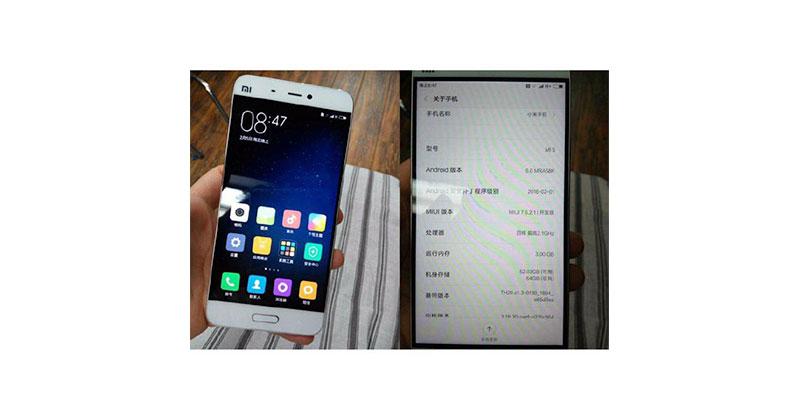 Ini Wujud Nyata Xiaomi Mi 5 Ber-Bezel Tipis