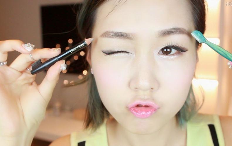 Alis Lurus Wanita Korea Hits Tahun Ini Okezone Lifestyle