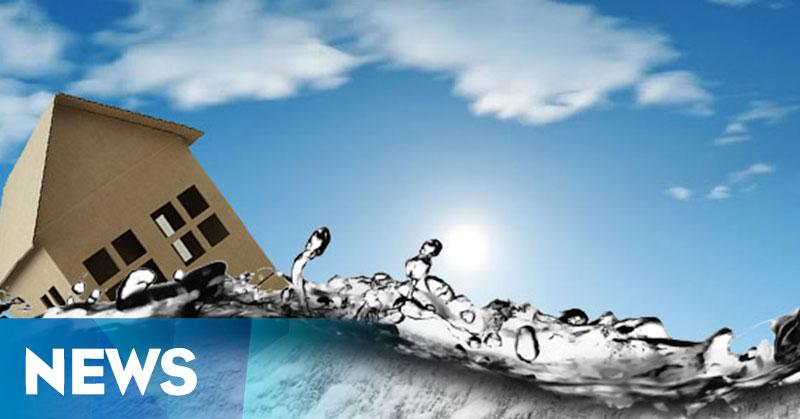 perumahan mewah kelapa gading terendam banjir okezone news