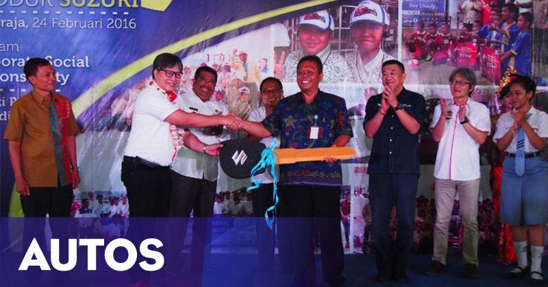 Suzuki Donasikan Mesin Dan Mobil Ke SMKN Di Bali Okezone