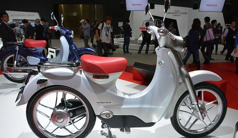 Sepeda motor listrik Honda EV-Cub sulit dipasarkan di Indonesia (ist)