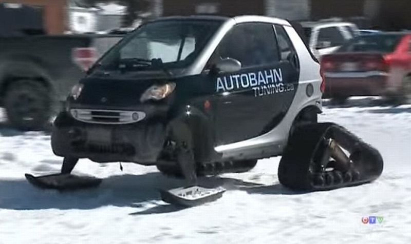 Smart Car Accident Trailer