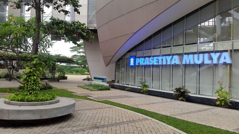 Salah satu sudut kampus Universitas Prasetiya Mulya. (Foto: Rifa NN/Okezone)