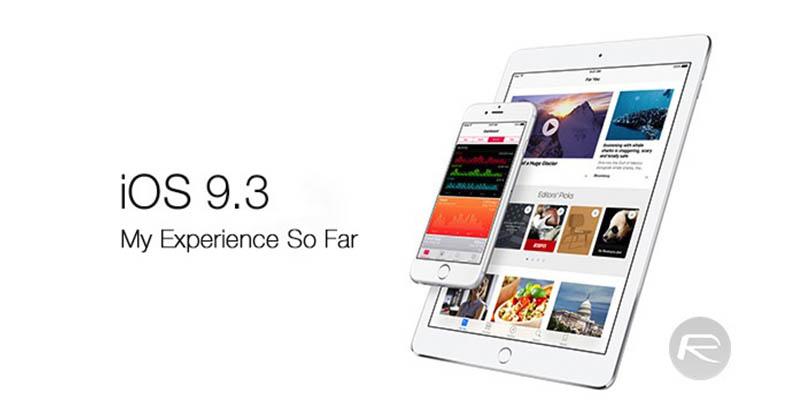 Ketemu Bug, Apple Tunda Update iOS 9.3 untuk iPhone & iPad ...