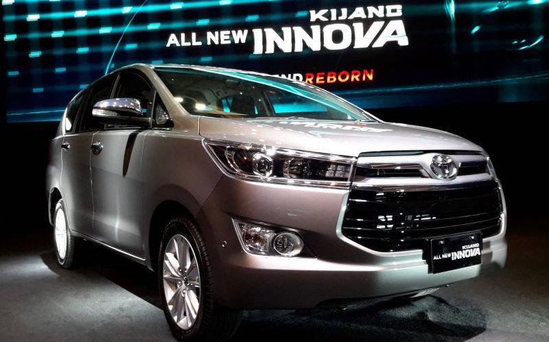 Toyota all new Kijang Innova (Foto: Okezone)