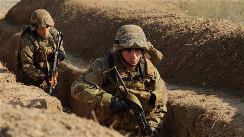 Pasukan Armenia diklaim sudah menduduki Nagorno-Karabakh (Foto: AFP)