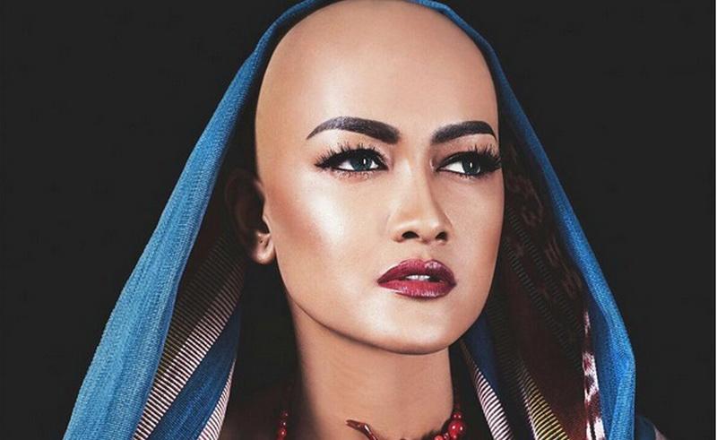 Transformasi Gaya Rambut Julia Perez Hingga Botak Okezone Lifestyle - Gaya rambut pendek jupe