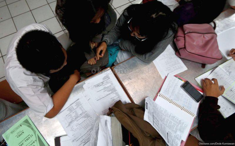 Peserta Un Matematika Susah Banget Okezone News
