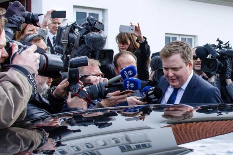 Perdana Menteri Islandia mengundurkan diri gara-gara Panama Papers. (Foto: EPA)