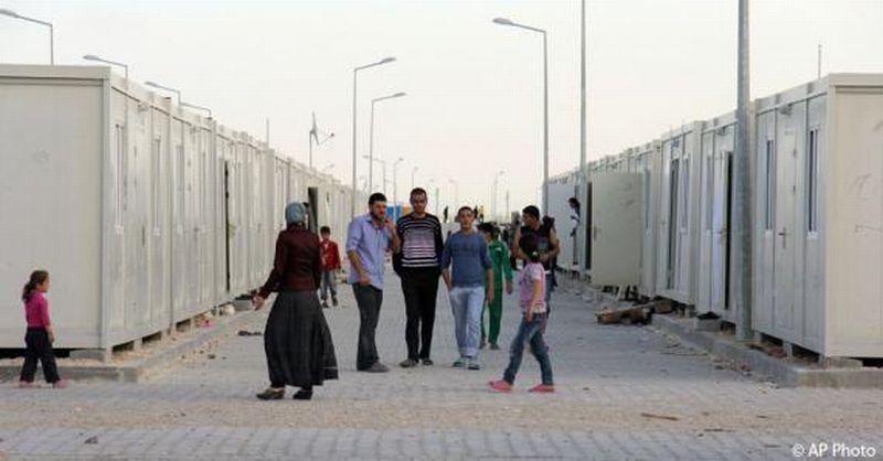 Foto kamp pengungsi di Kota Kilis, Turki (Foto: Associated Press)