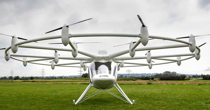 Helikopter dengan 18 Baling-Baling Lolos Uji Terbang