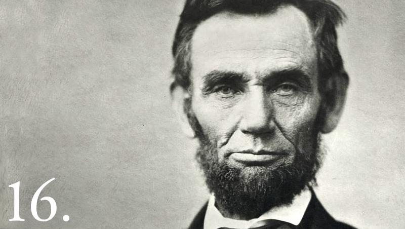 Presiden ke-16 AS, Abraham Lincoln (Foto: Gedung Putih)