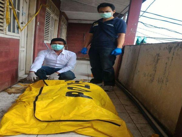 Mayat wanita hamil dimutilasi (Foto: Denny/Koran Sindo)