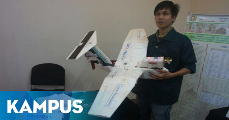 Pesawat Amfibi Penjaga Laut NKRI Karya Mahasiswa ITB