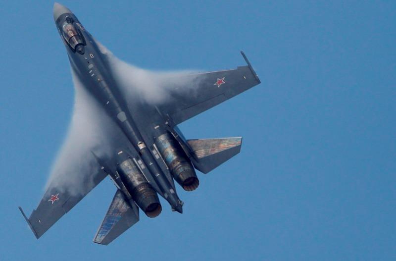 Pesawat Tempur Su-35. (Foto: Reuters)