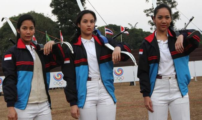 Top Movie 5 Wow Tara Basro Bcl Dan Chelsea Islan Jadi Atlet Panah Okezone Celebrity