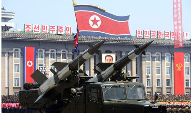 Persenjataan militer Korut (Foto: Express)
