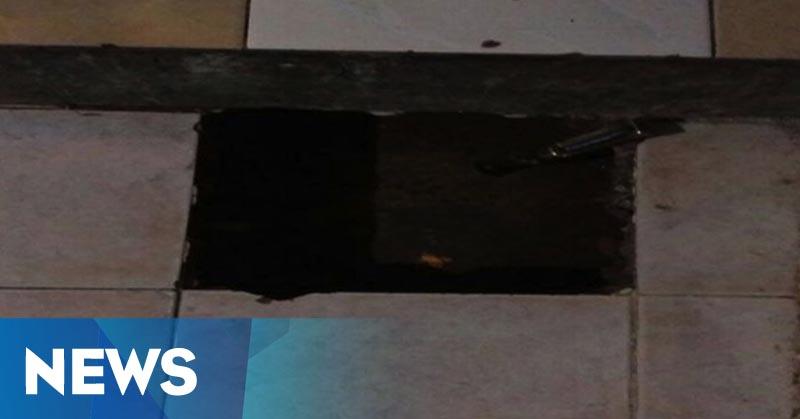 Air Panas Keluar dari Lantai, Rumah Onah Diserbu Warga
