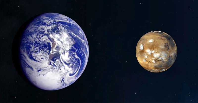 Usai 11 Tahun, Mars dan Bumi Saling Merapat