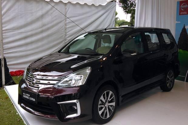 Nissan Grand Livina terbaru akan dijual dikisaran harga low MPV saat ini (Sindonews)