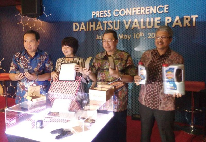 ADM meluncurkan suku cadang Value Part bagi pengguna mobil Daihatsu (Foto: Santo/Okezone)